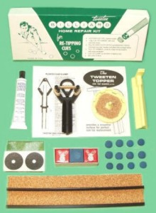 Tweeten Billiard Repair Kit